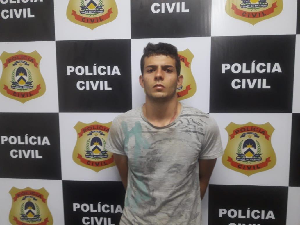 Polícia Civil de Paraíso (TO) prende em flagrante filho por agressão à própria mãe