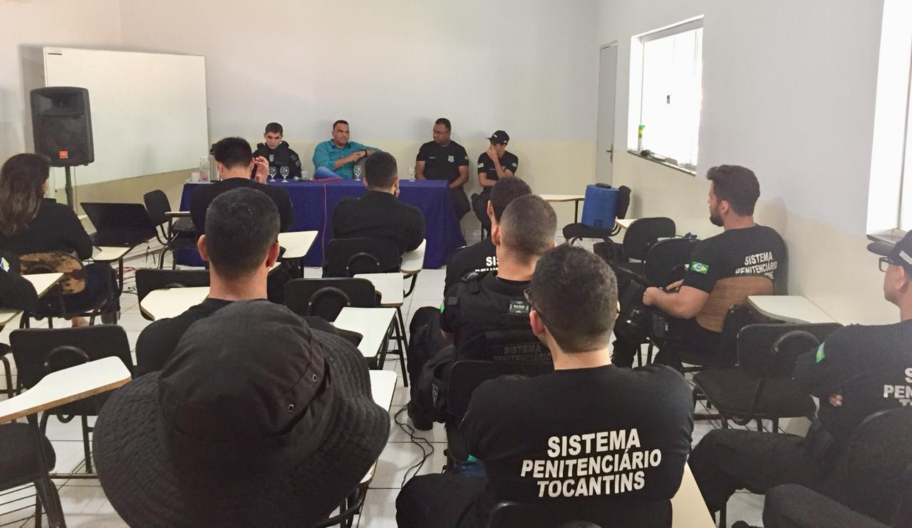 Agentes prisionais têm reforço em capacitação com Curso de Alinhamento Operacional, começado pela Barra da Grota