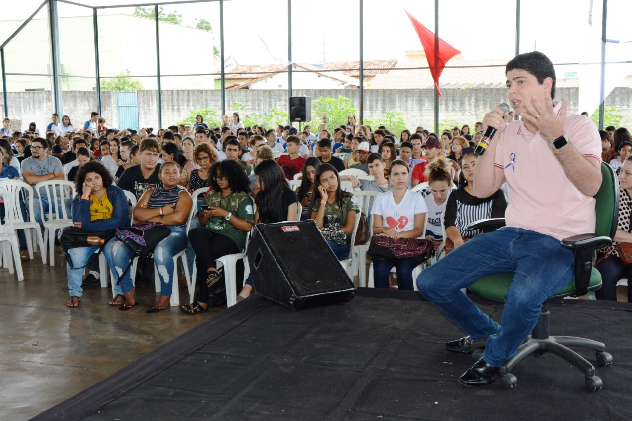 Vice-Prefeito Celso Morais participa do Jovem em Ação do SEBRAE