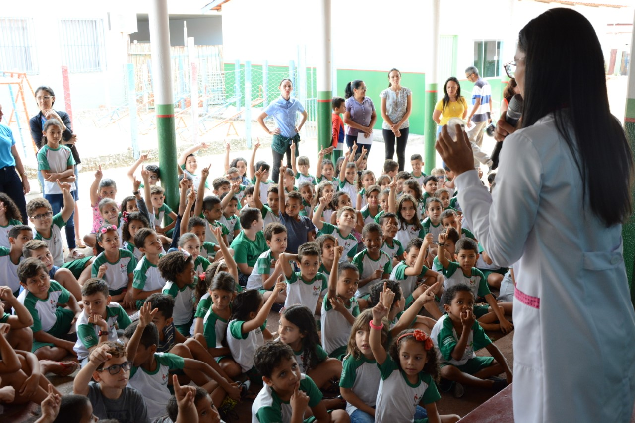 Prefeitura de Paraíso promove mais uma ação do Programa Saúde na Escola
