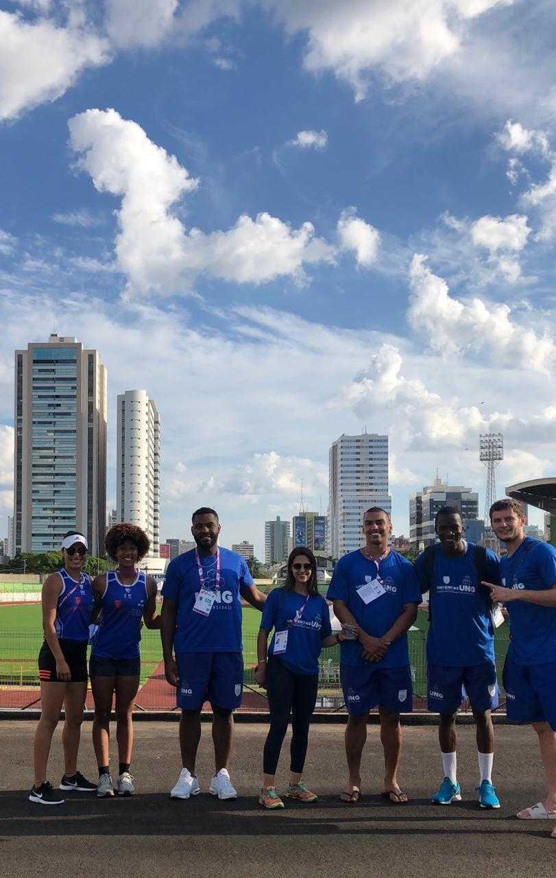 Atletismo da UNG conquista medalhas nos JUBs Nacionais