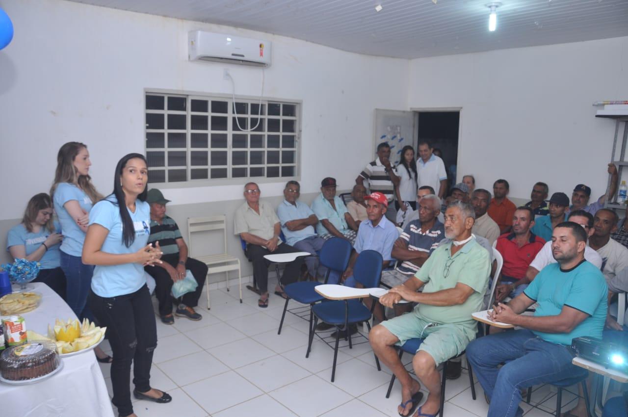 Novembro Azul: Prefeitura de Porto Nacional realiza ações em prol da saúde do homem