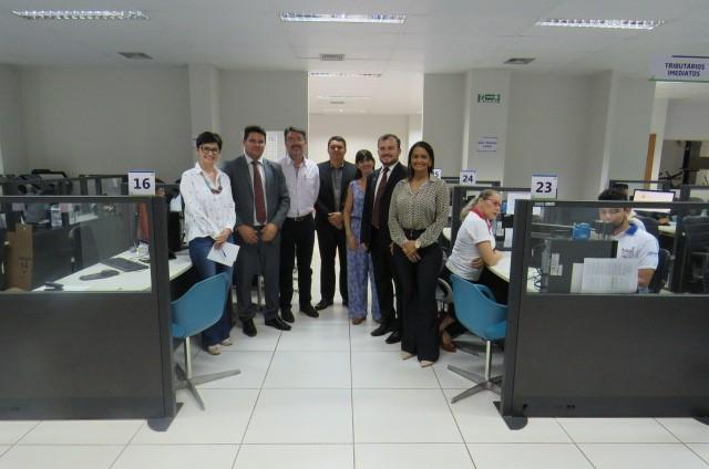 Superintendente do Procon/TO  visita futuras instalações do Procon Palmas e destaca parceria com município