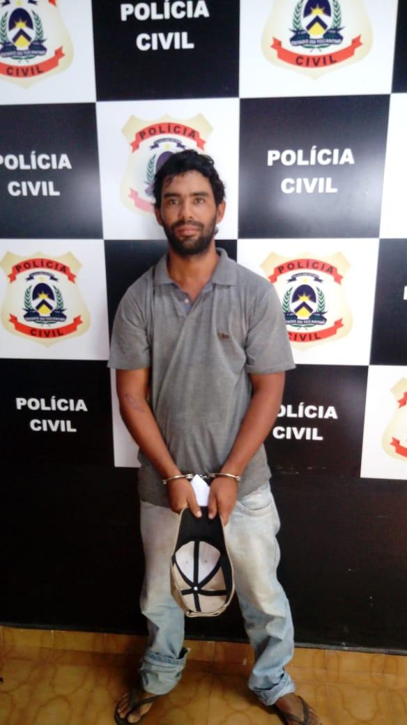 Polícia Civil prende suspeito de cometer homicídio no interior do Estado