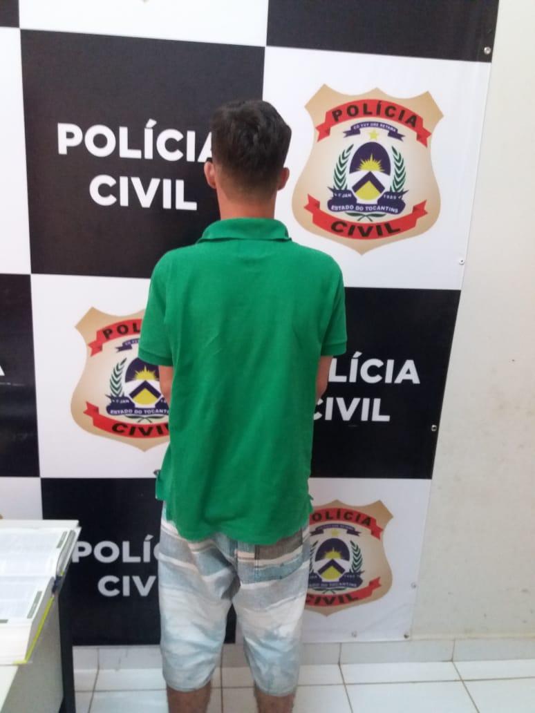 Adolescente suspeito de vários atos infracionais é preso pela Polícia Civil no interior do Estado