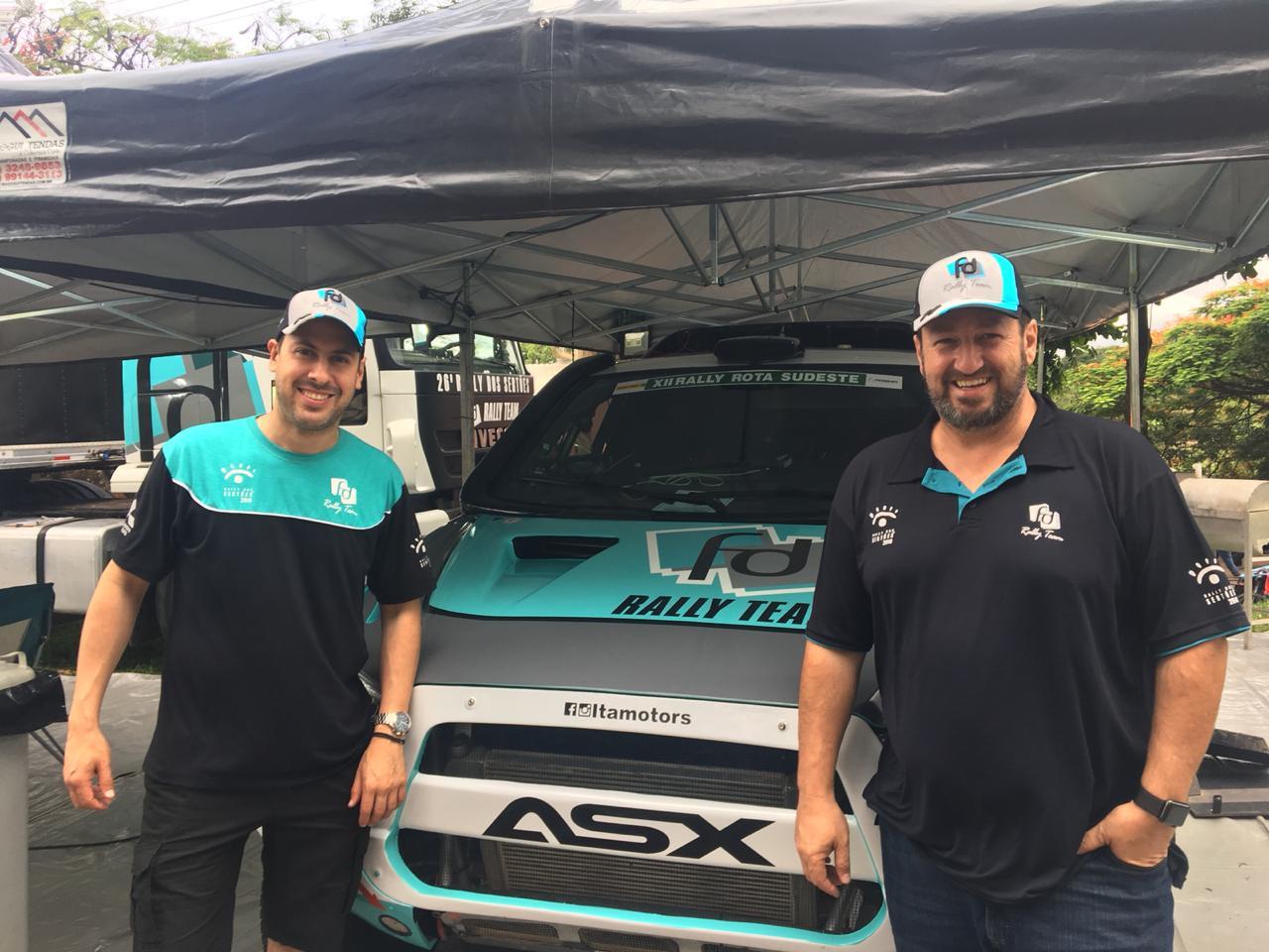 Rally Rota Sudeste: Na estreia do novo carro, Fontoura e Gugelmin fecham em 2º na geral