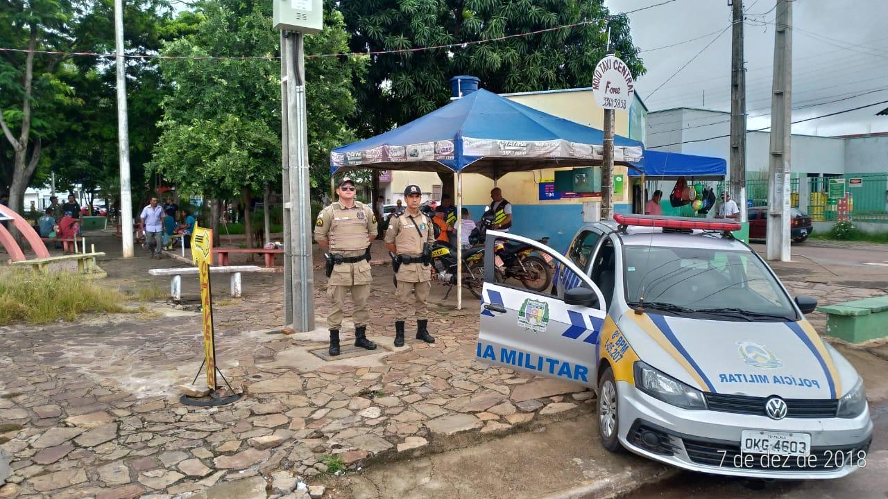 8º BPM desencadeia Operação Natal Seguro em Paraíso (TO) e Região