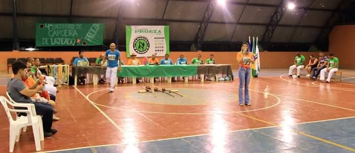 Prefeito Dr. Tércio participa do 4º Encontro de Capoeira de Lajeado (TO)
