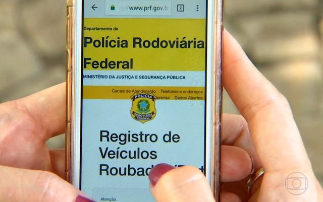 Sistema da PRF ajuda na recuperação de veículos roubados; saiba como usar