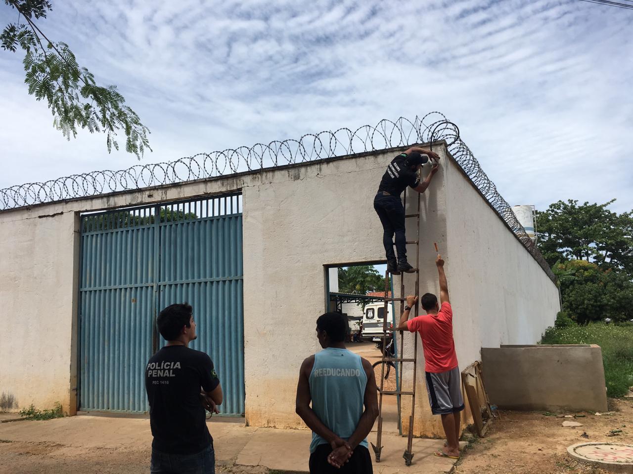 Cadeia Pública de Miracema adota sistema de monitoramento por câmeras