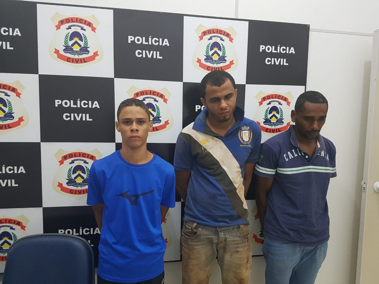 Em menos de 24 horas, Polícia Civil prende suspeitos de explosão de caixa eletrônico em Abreulândia