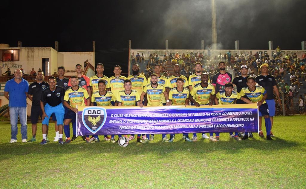 Atlético Cerrado é campeão Tocantinense Série B edição 2018