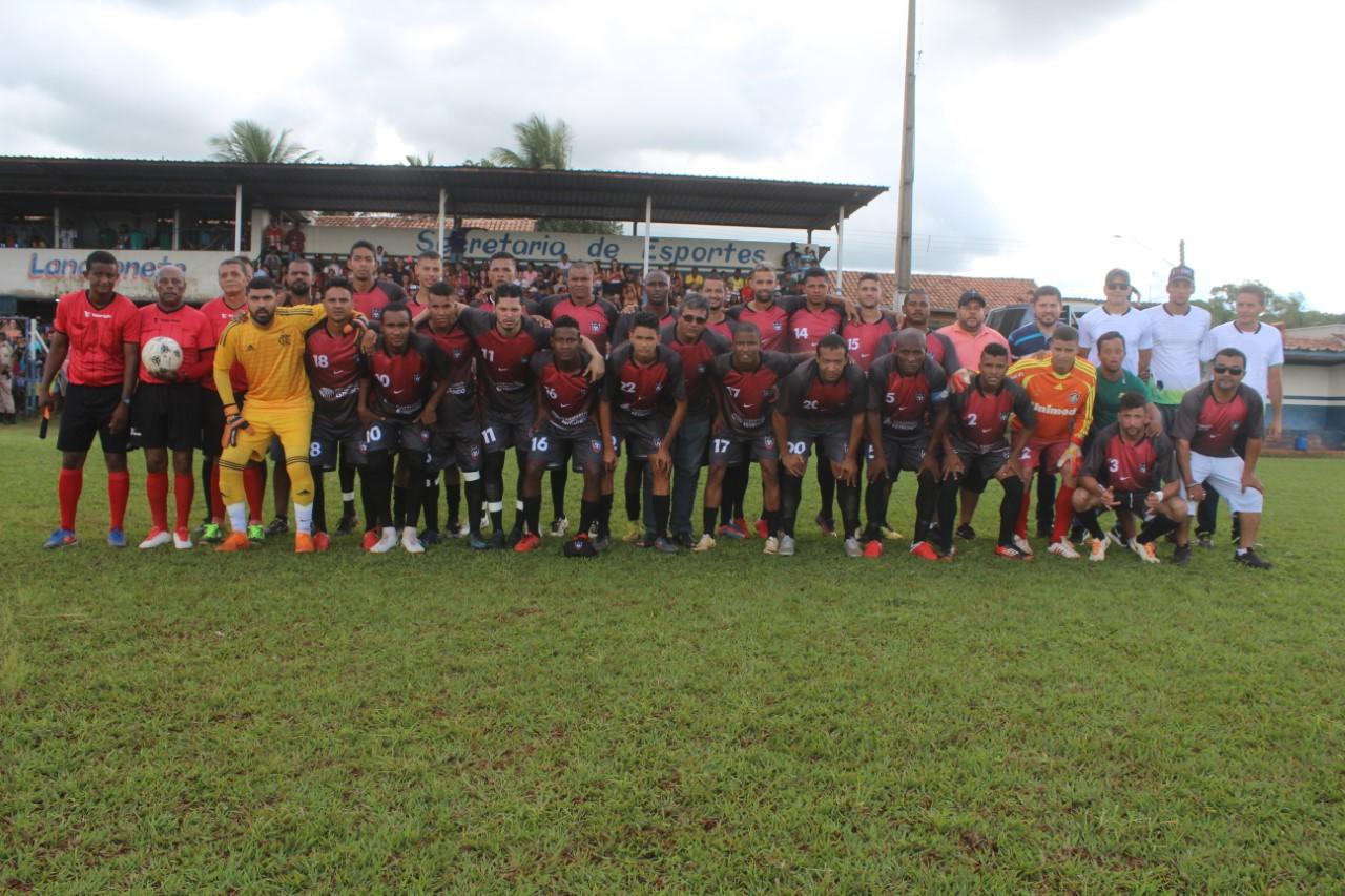 Cavalcante é campeão do Campeonato Municipal de Futebol de Dianópolis 2018