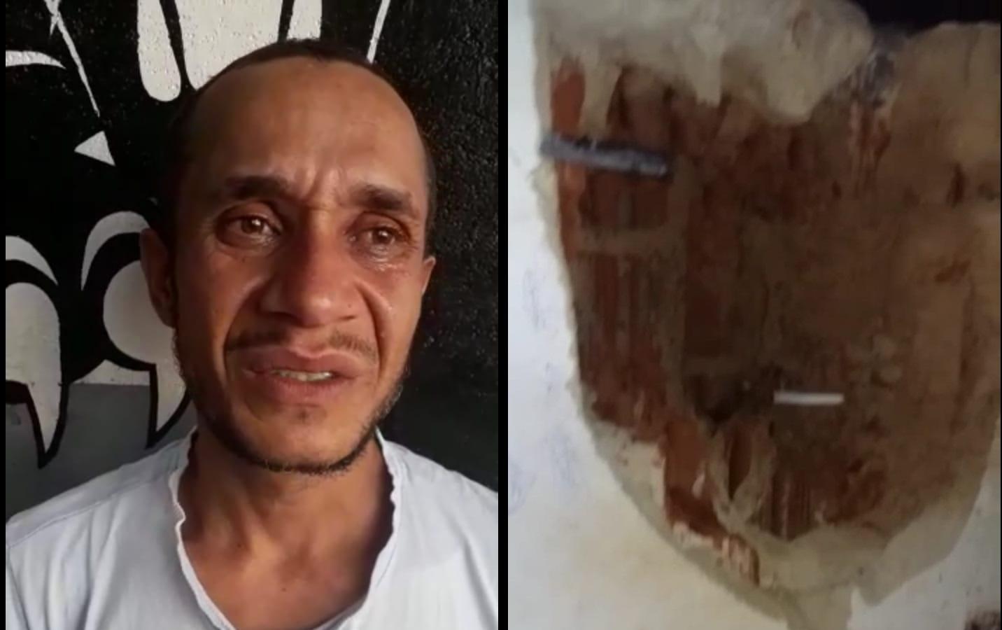 Agentes prisionais da CPP de Paraíso frustra plano de fuga