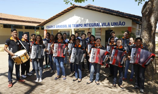Orquesta Sanfônica Amor perfeito é atração especial na cantata de Natal de Lagoa da Confusão