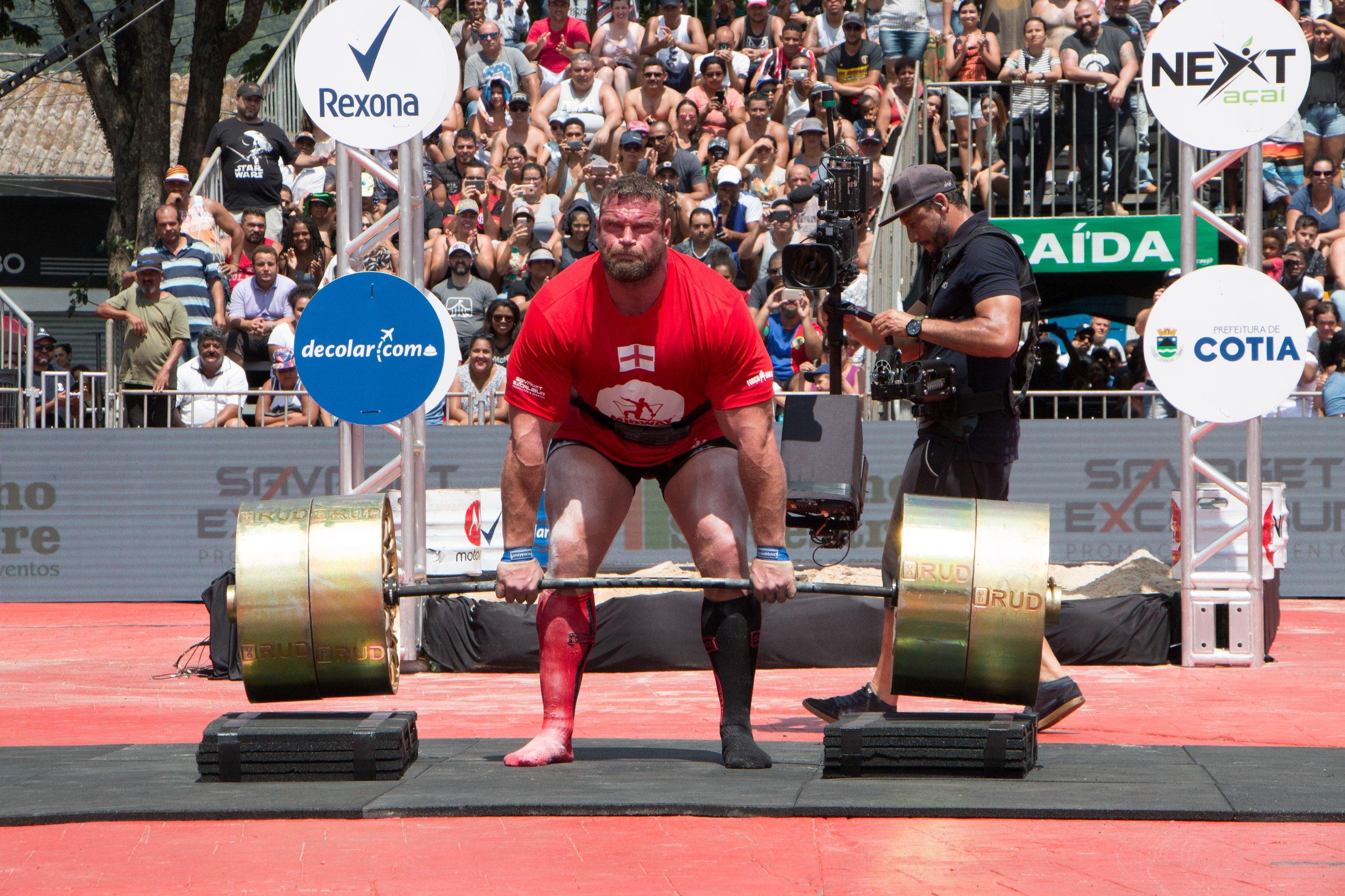 Sétima edição do Força Bruta reúne atletas da Inglaterra, Polônia, Rússia e EUA em fevereiro