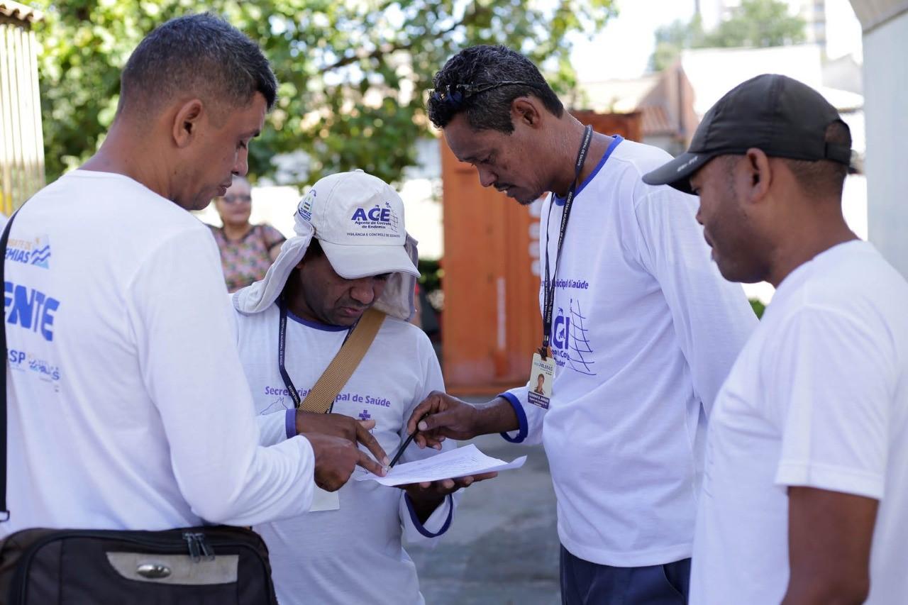 Prefeitura intensifica ações de combate à dengue, zika e chikungunya