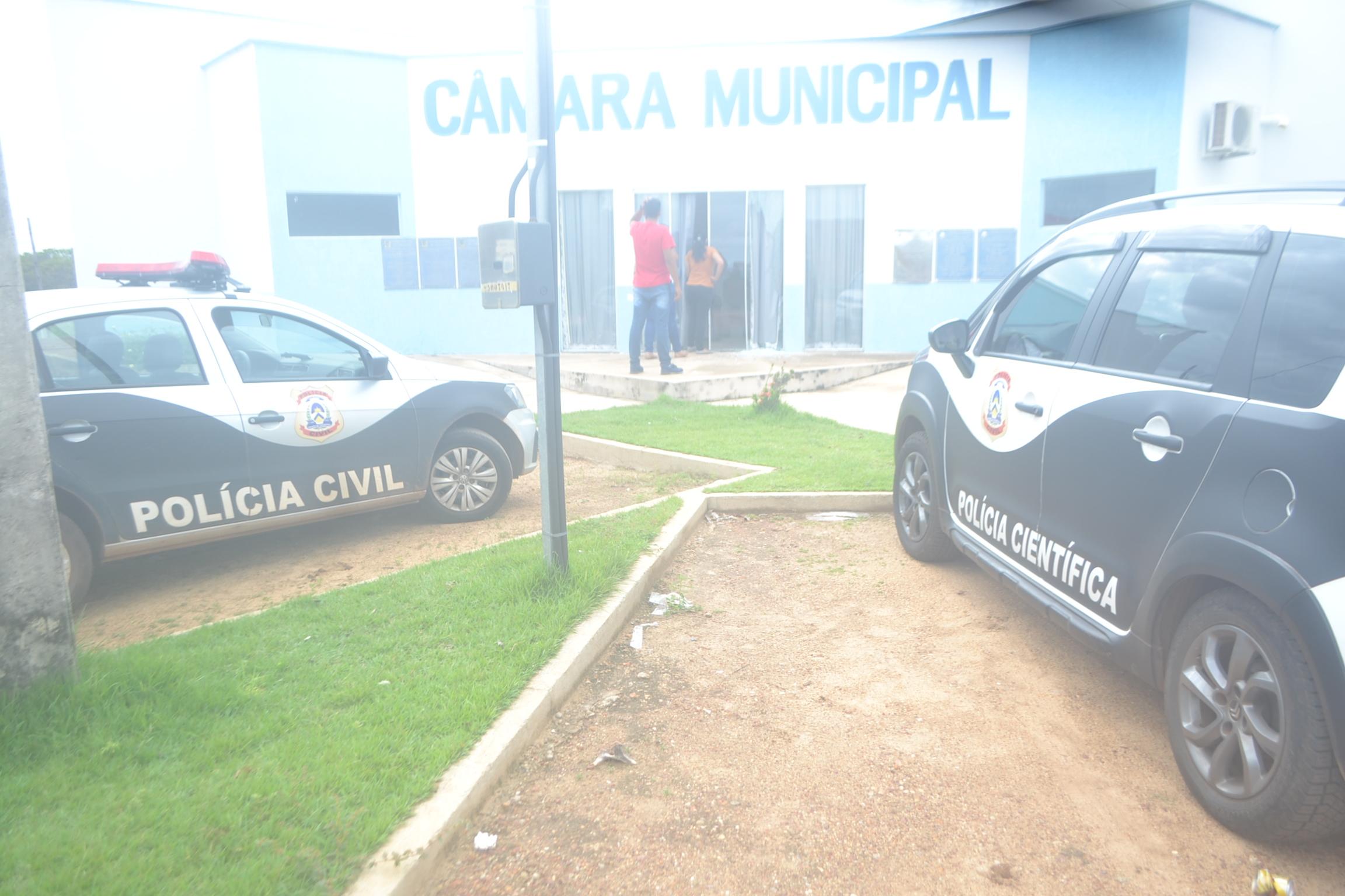 Polícia Civil investiga ato de vandalismo na sede do legislativo de Divinópolis (TO)
