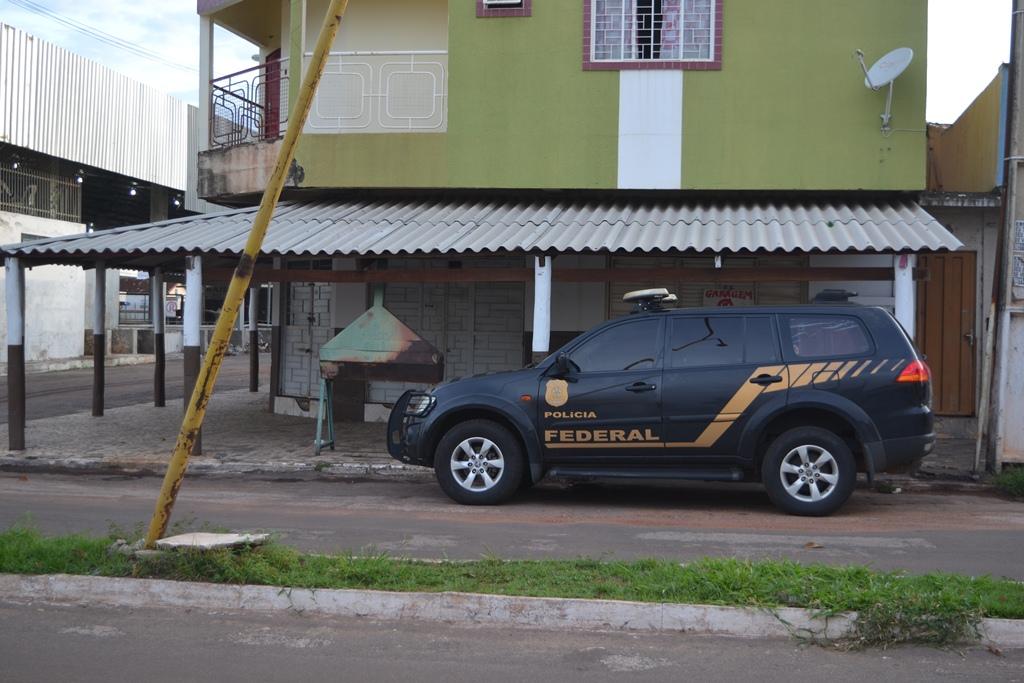 Polícia Federal chega a Paraíso (TO) nesta madrugada com as operações Spurius II e III