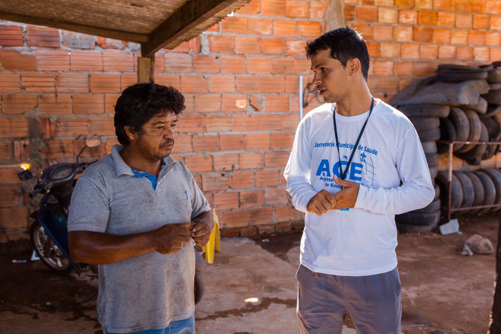 Moradores de Palmas estão sendo mobilizados a combater o mosquito Aedes aegypti
