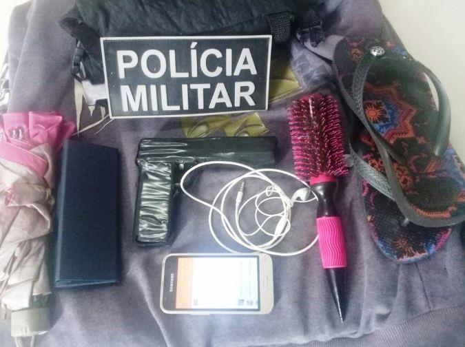 Polícia Militar apreende adolescente após assalto e recupera celular e bolsas roubadas em Araguaína