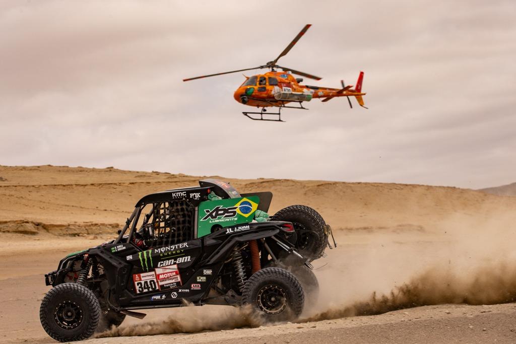 Brasileiros caem para a quarta posição na disputa dos UTVs no Rally Dakar