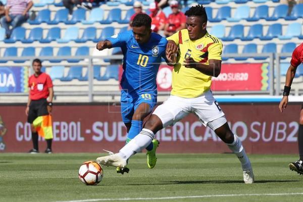 Brasil joga mal e estreia no Sul-Americano Sub-20 com empate sem gols