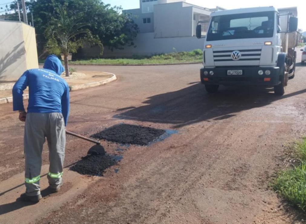 Região Sul e avenidas do plano diretor recebem equipes da Seisp para manutenção de vias e espaços públicos