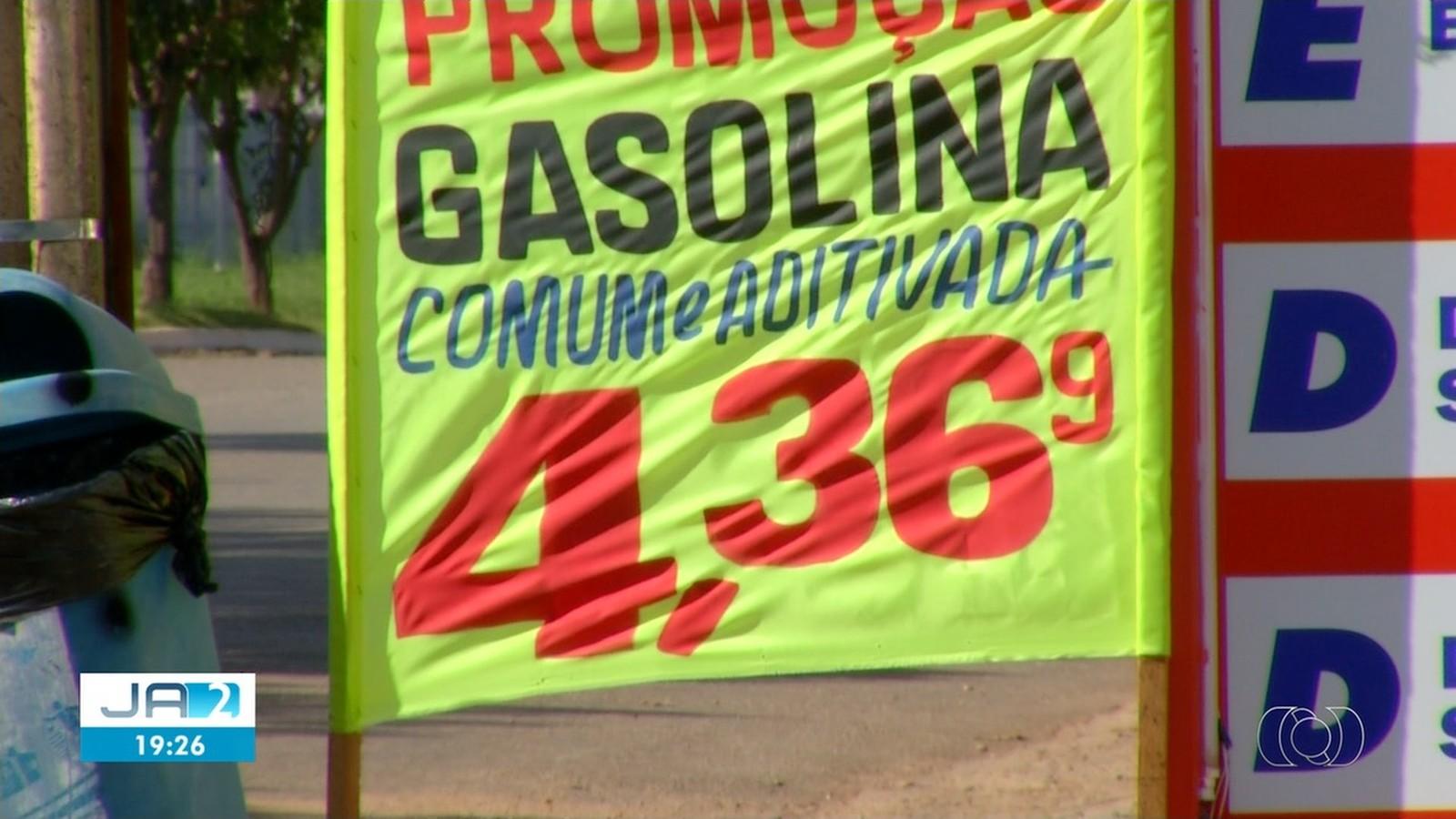 Preço da gasolina cai e litro pode ser encontrado por até R$ 4,36 em Palmas