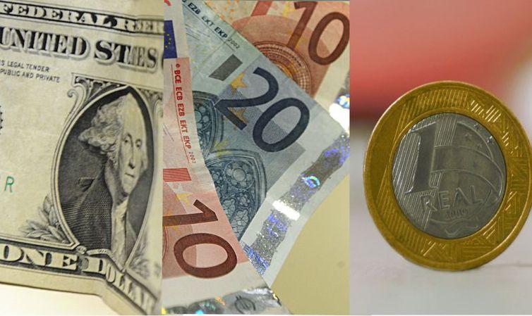 Bolsa cai 0,34%, e dólar vai a R$ 3,75
