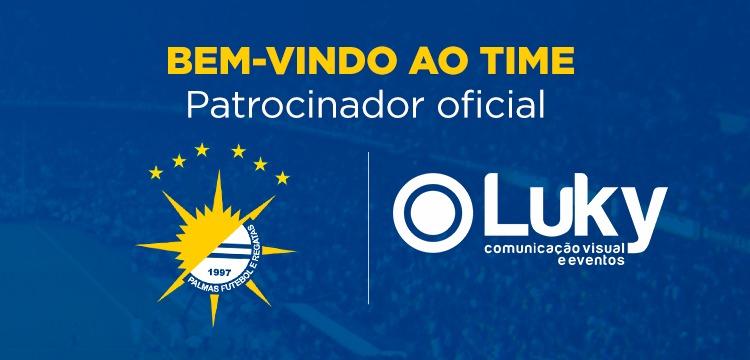 Luky Comunicação Visual irá patrocinar o Palmas na temporada 2019