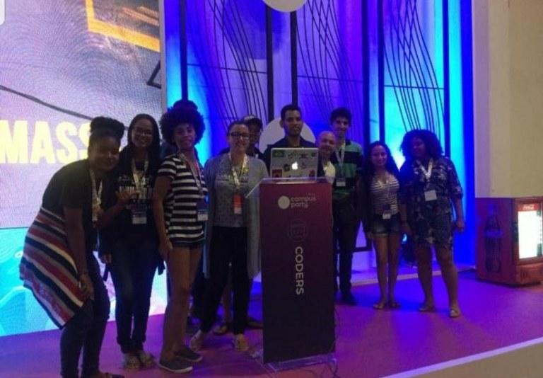 Estudantes do IFTO participam da Campus Party Brasil, em São Paulo