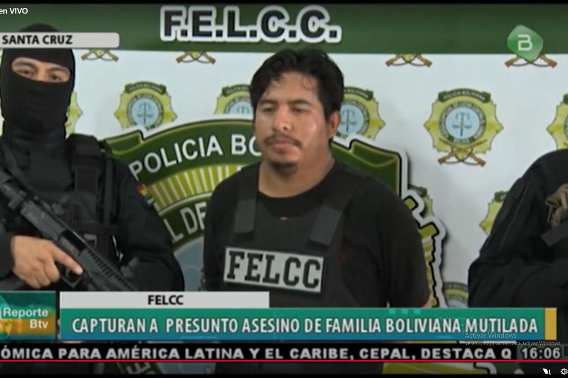 Policiais da Bolívia prendem homem acusado de matar família em SP
