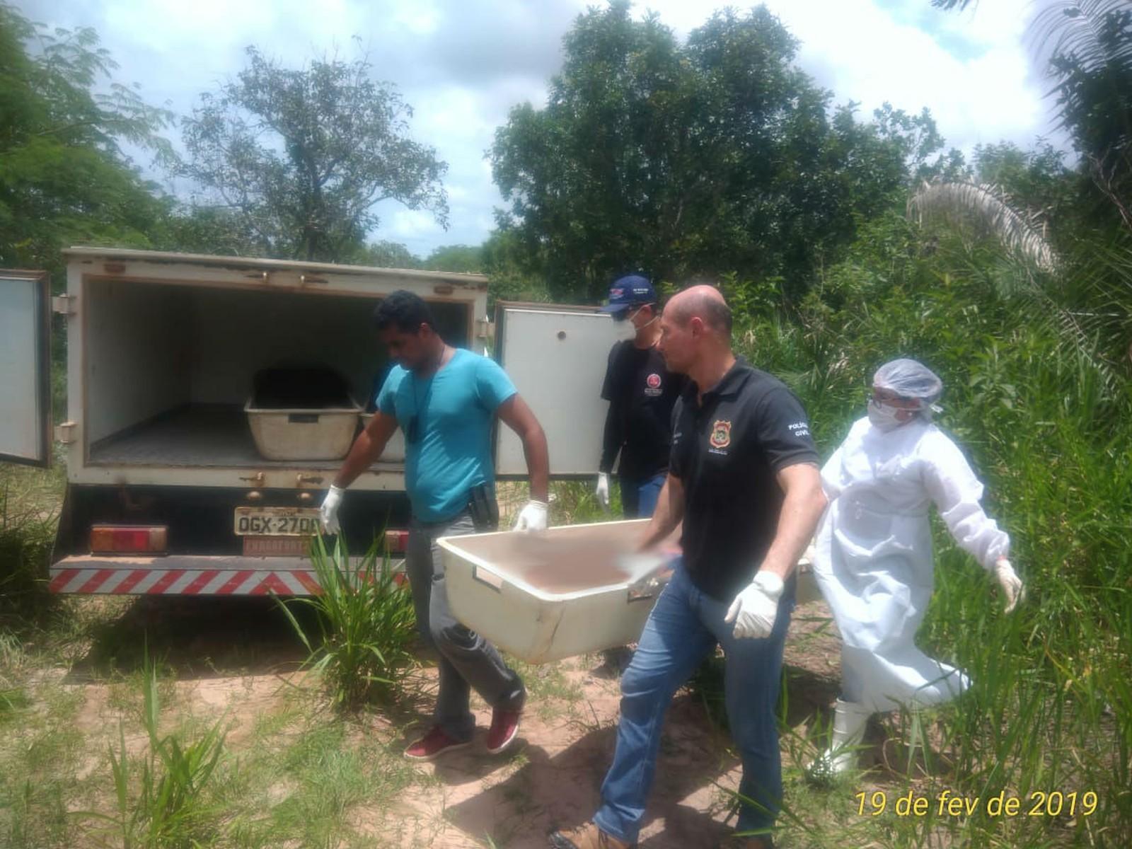 Três corpos em decomposição são encontrados pela polícia próximo de ferrovia em Guaraí