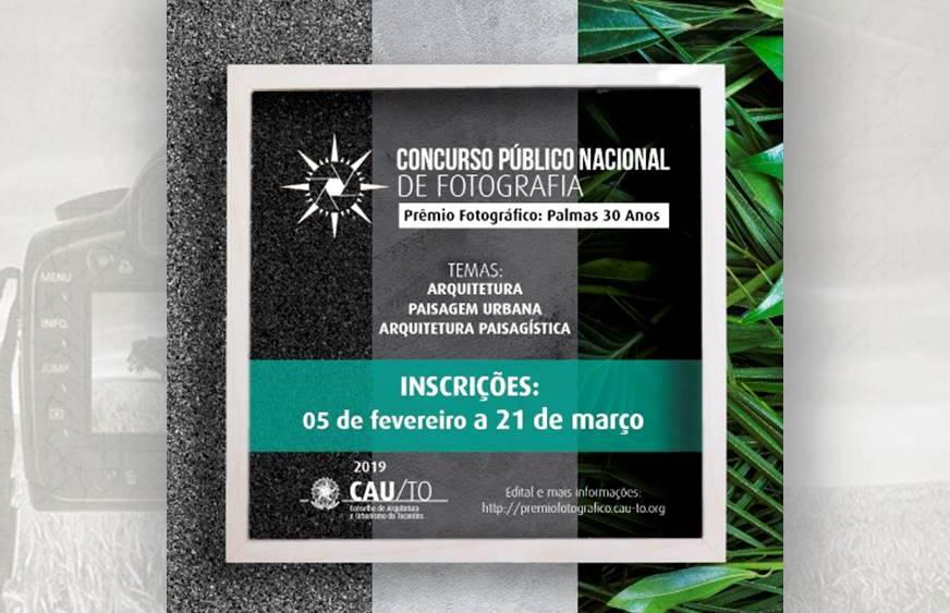 Concurso Público Nacional de Fotografia comemora 30 anos de Palmas