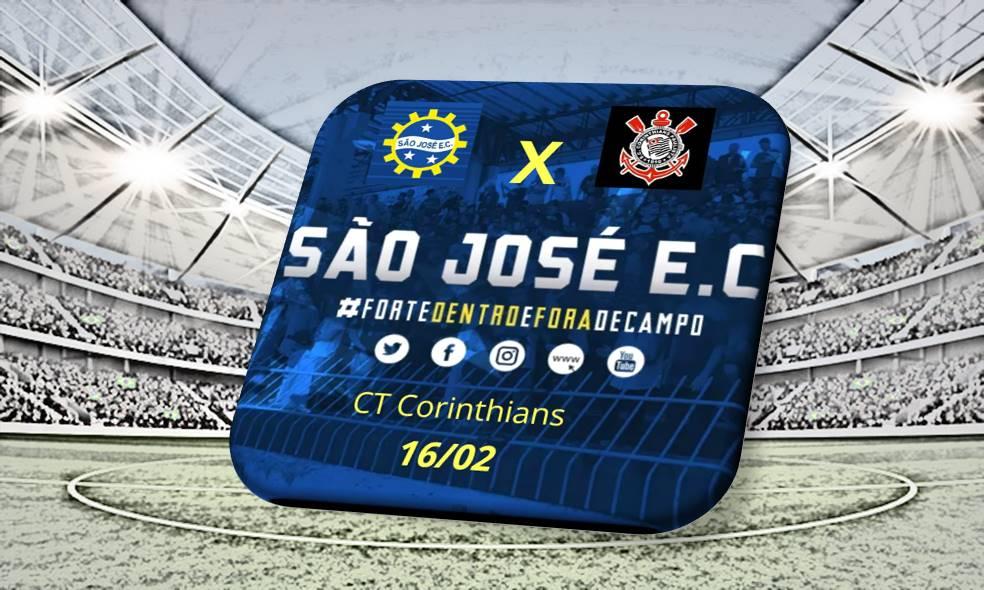 São José e Corinthians realizam amistoso de futebol sub-17/sub-15 neste sábado, 16, em São Paulo