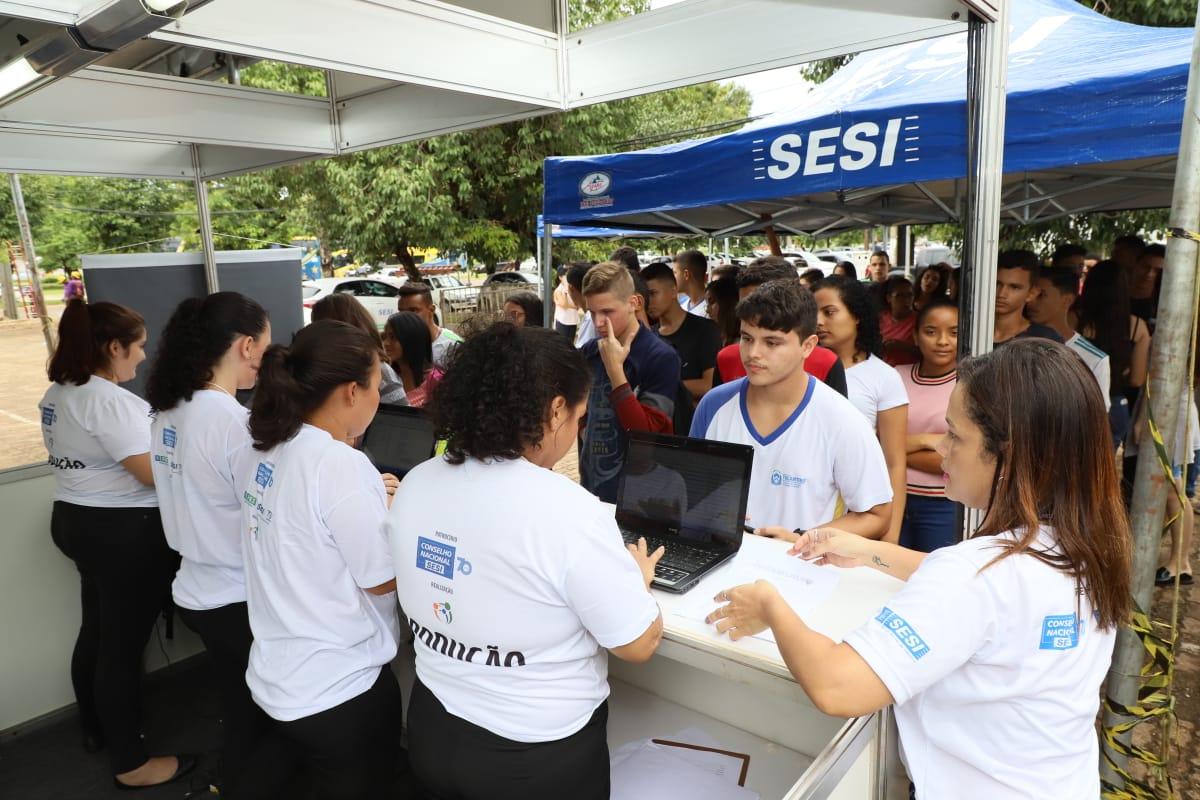 Terceira edição do SESI Futuro registra mais de 6.000 atendimentos em Palmas