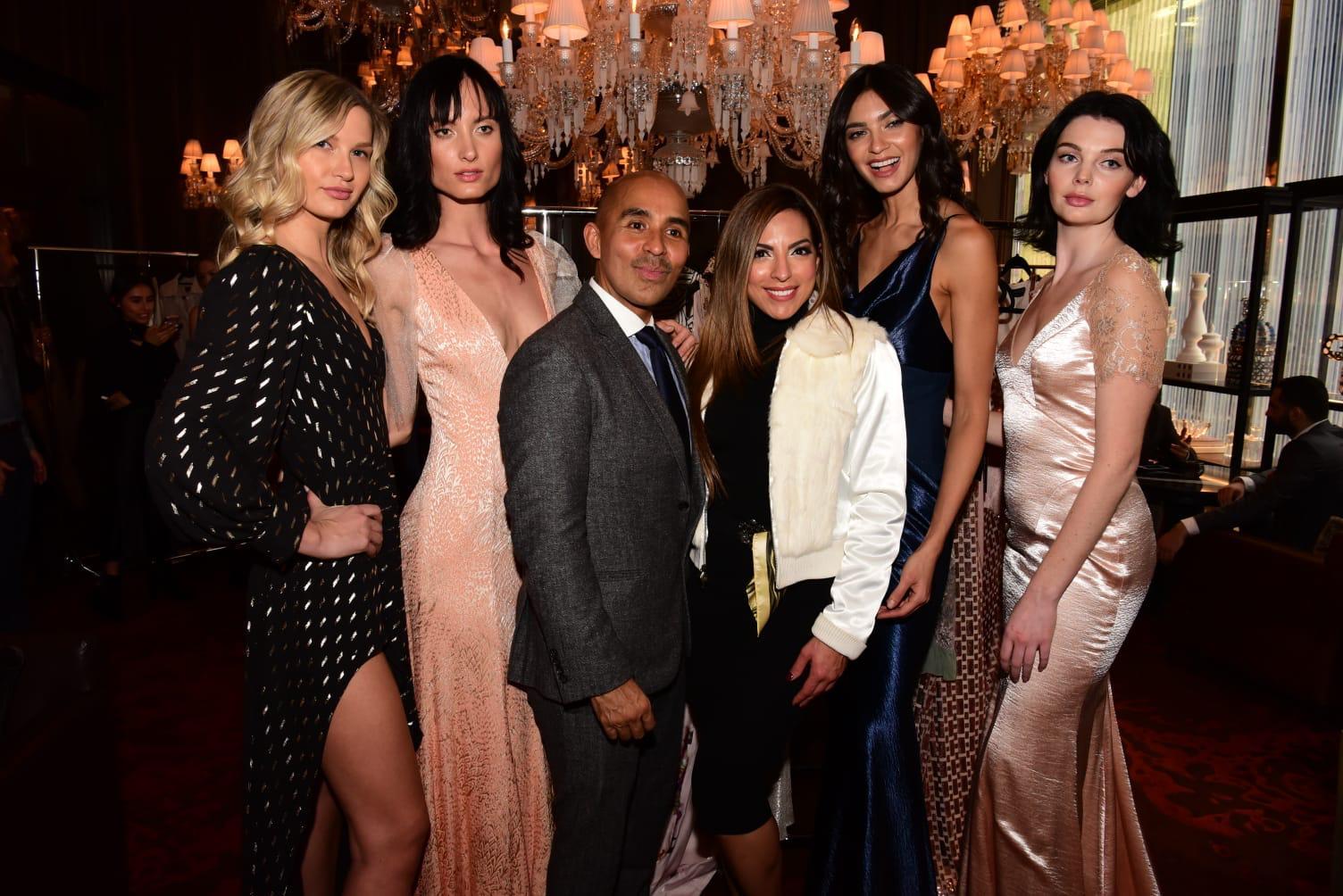 Corretora das celebridades é brasileira e chamou atenção no New York Fashion Week