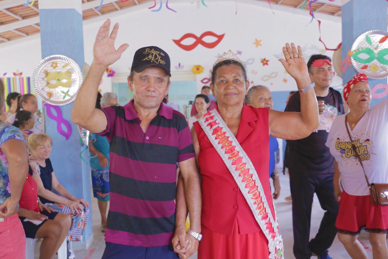 Carnaval: Rainha e Rei Momo da melhor idade são escolhidos em Gurupi