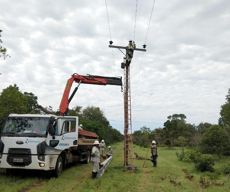 Energisa segue com cronograma de obras em mais 20 municípios no Estado TO