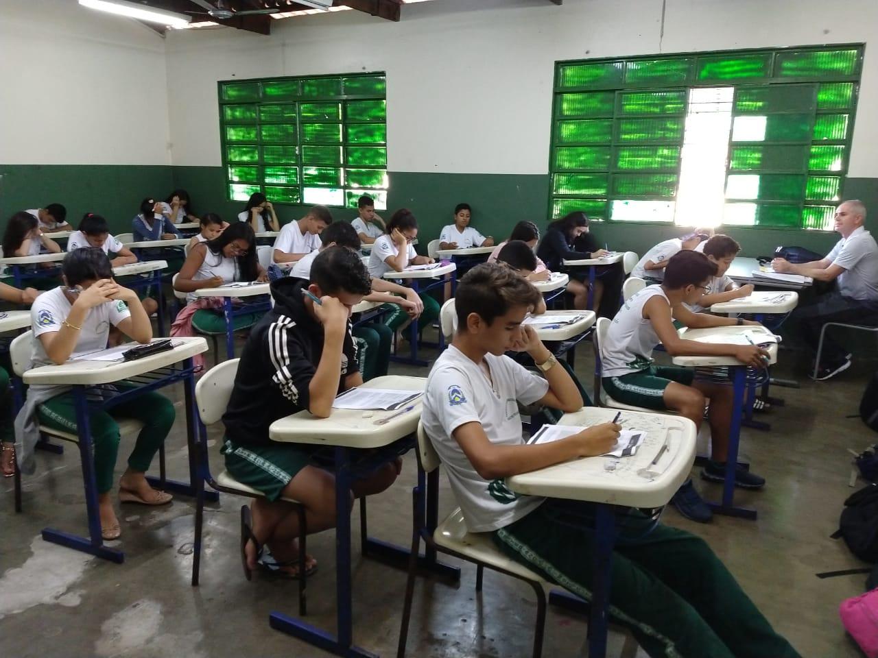 Cerca de 42 mil alunos participam da avaliação diagnóstica da Rede Estadual do Tocantins
