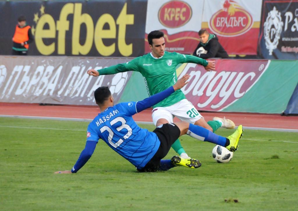 Classificado com antecedência para fase decisiva de Liga Búlgara, Matheus Leoni vislumbra vaga do Beroe na Europa League e projeta duelo contra CSKA Sofia