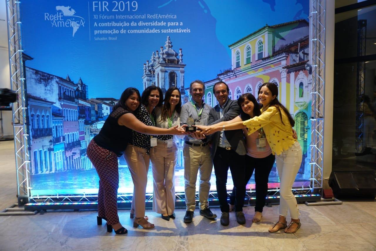 Programa da Fundação ARCOR ganha o Prêmio Transformadores da Rede América