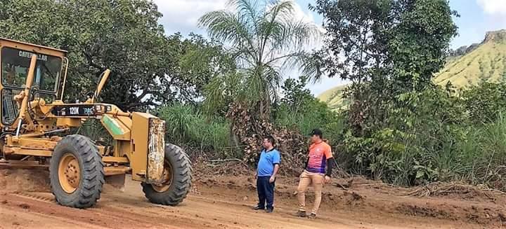 Após planejamento começa operação de recuperação das estradas vicinais de Lajeado