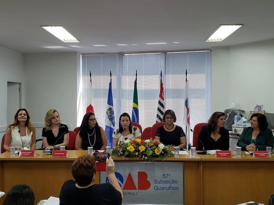 Coordenadora do curso de Direito participa de evento da OAB