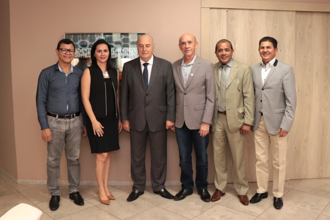 Secretário Estadual Ridoval Chiareloto realiza visita a Fecomércio Tocantins