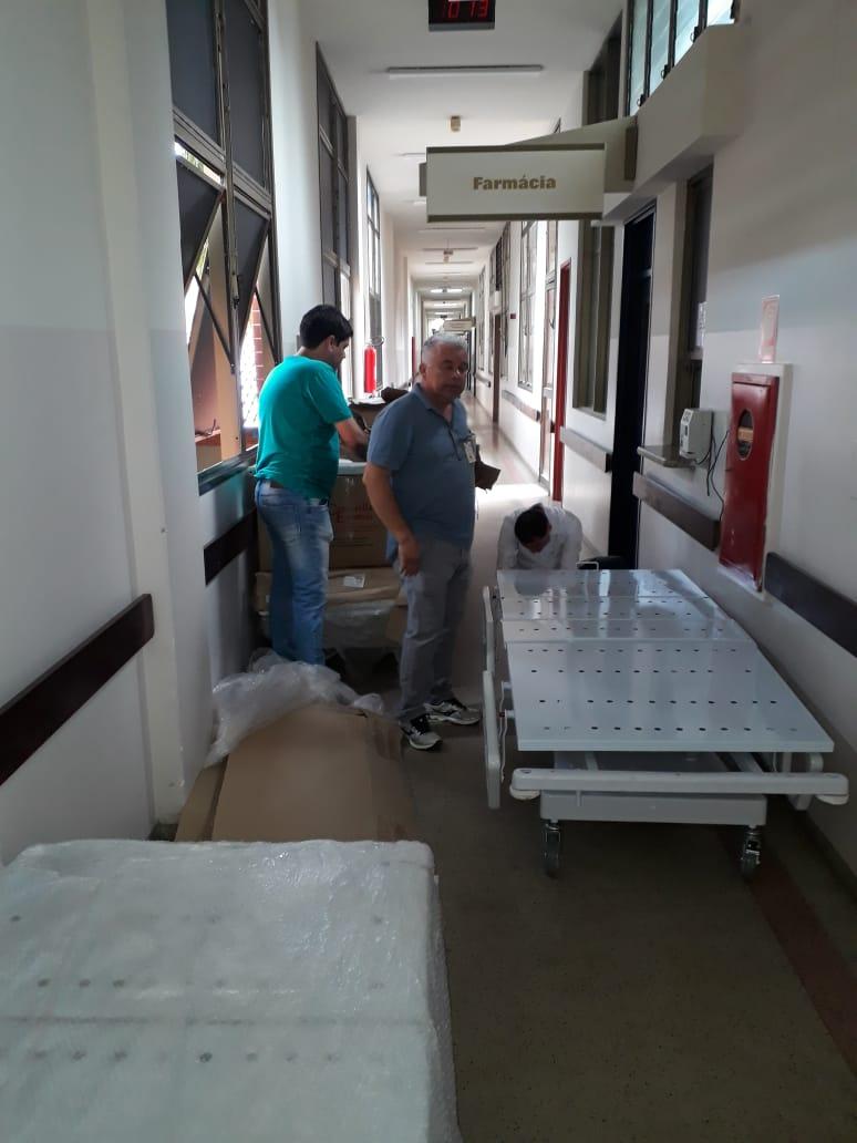 HGP recebe nesta terça-feira 20 novas camas para atender a demanda