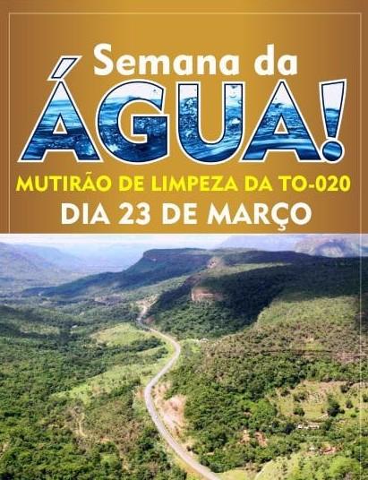 Defesa Civil de Palmas participa de ação em celebração ao Dia Mundial da Água