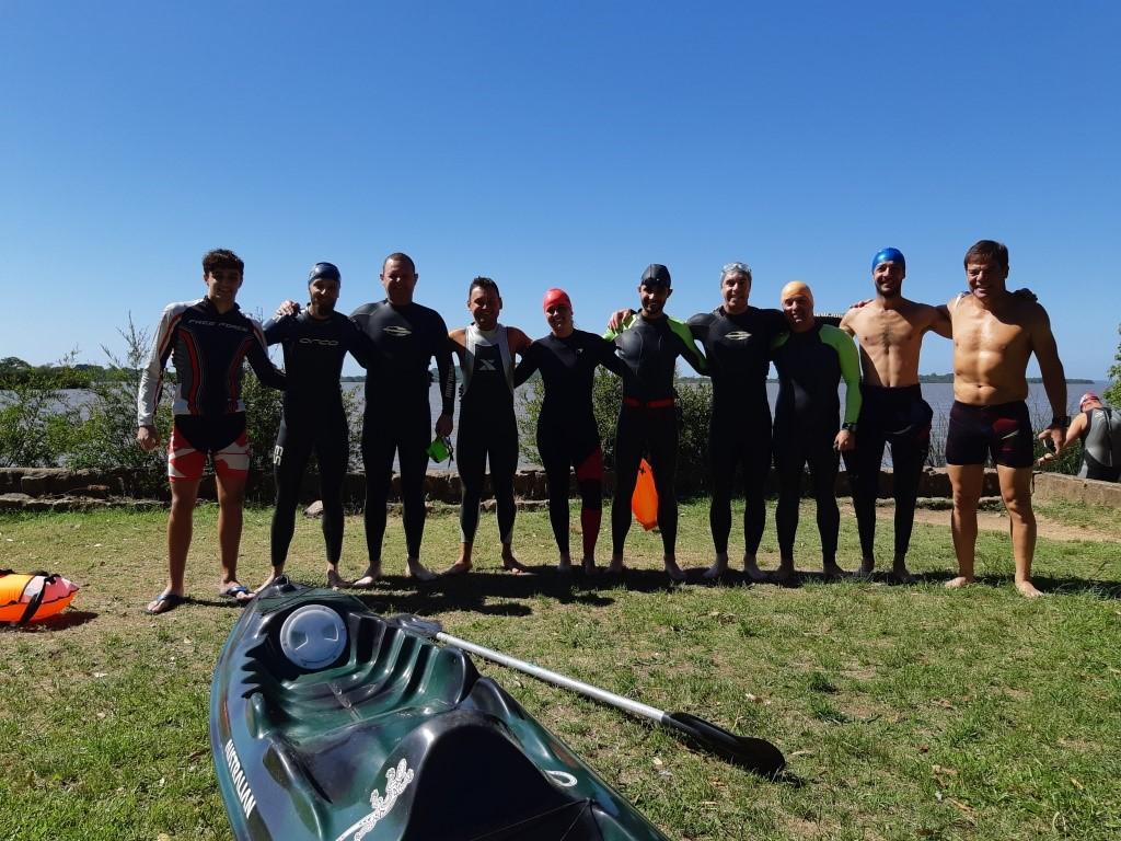 Nadando pelos Cartões Postais – Treino de natação em águas abertas no Lago Guaíba