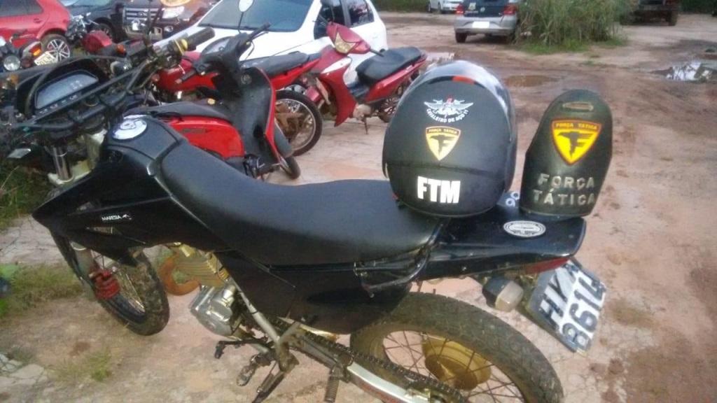 Polícia Militar prende homem por adulteração de sinais identificadores de veículo automotor em Araguaína